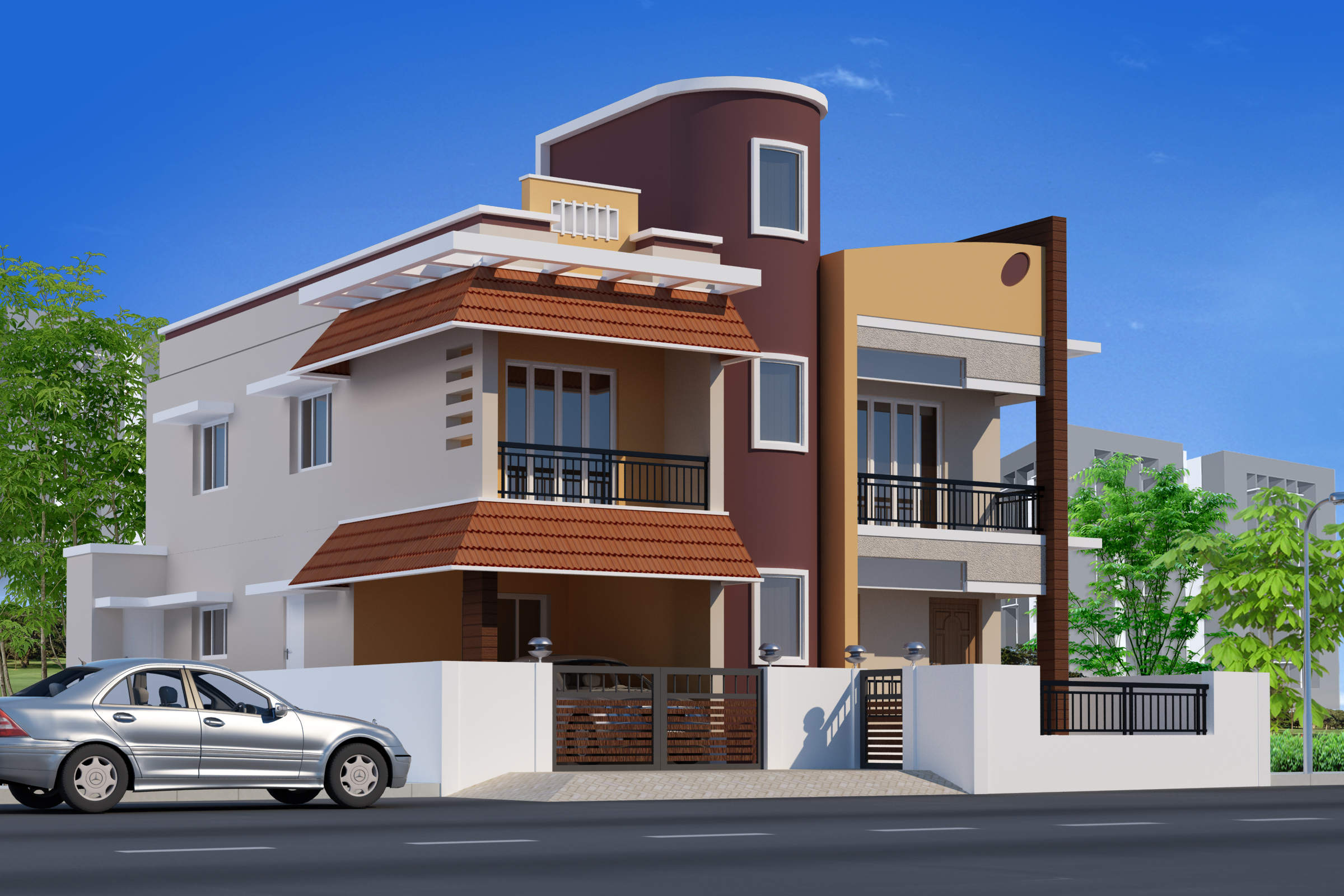 Venkat homes best builders in chennai reputed builders for Individual house models in chennai